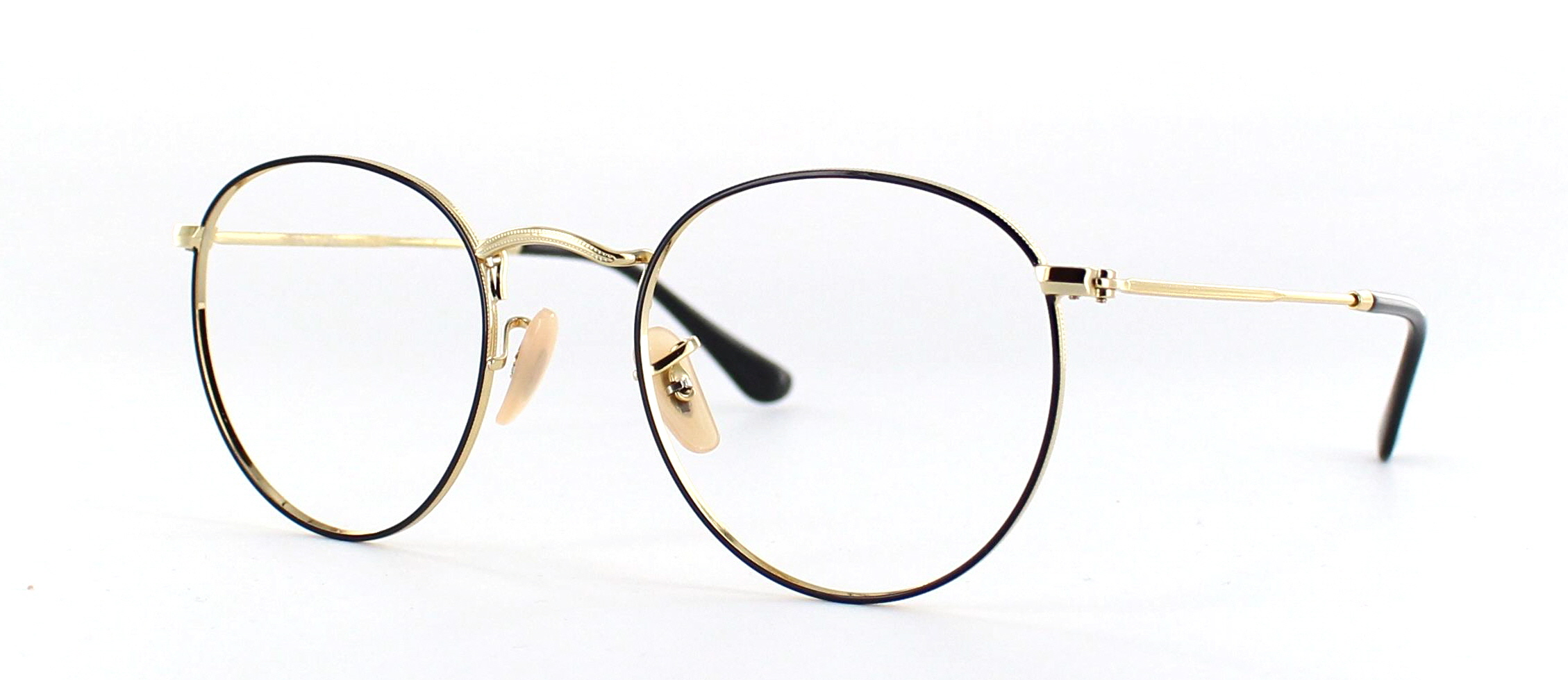 Ray Ban round metal side