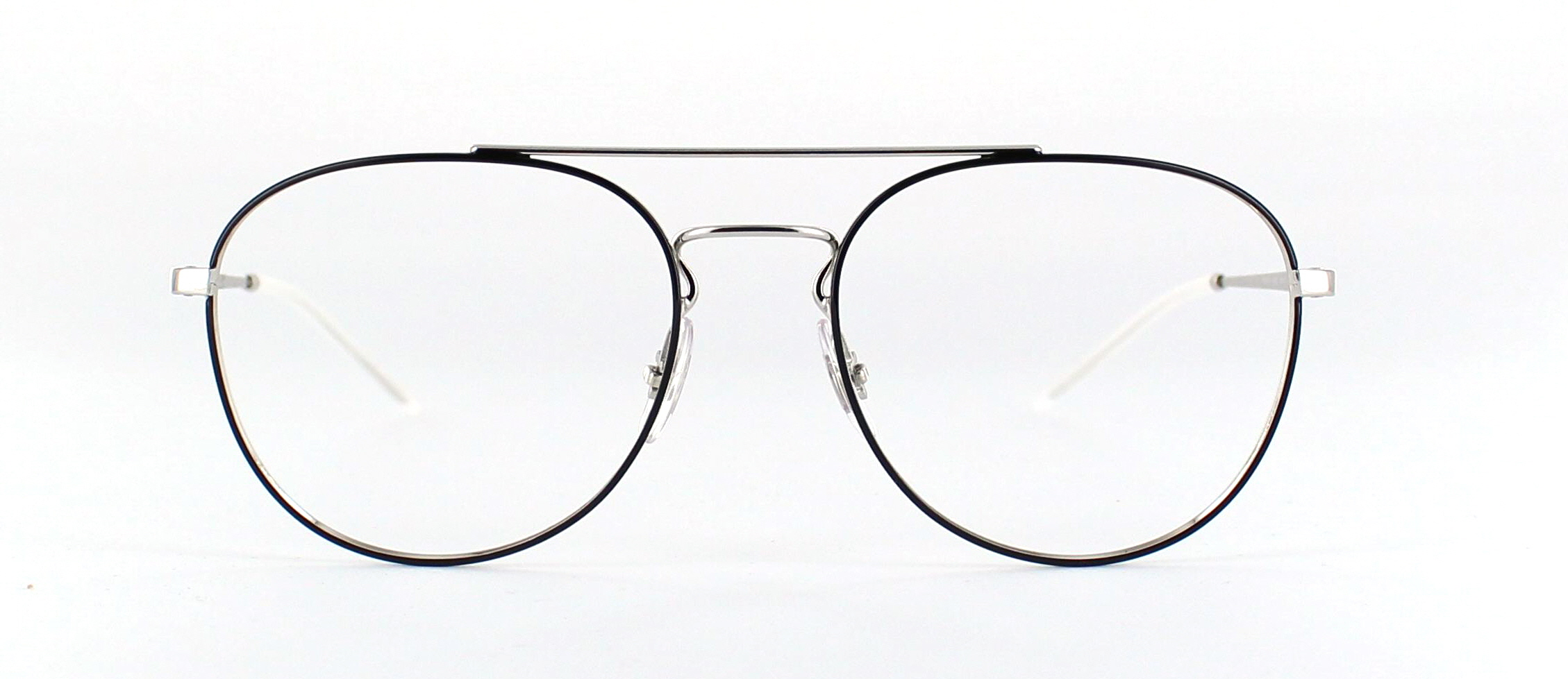 Ray Ban zilver 1 front
