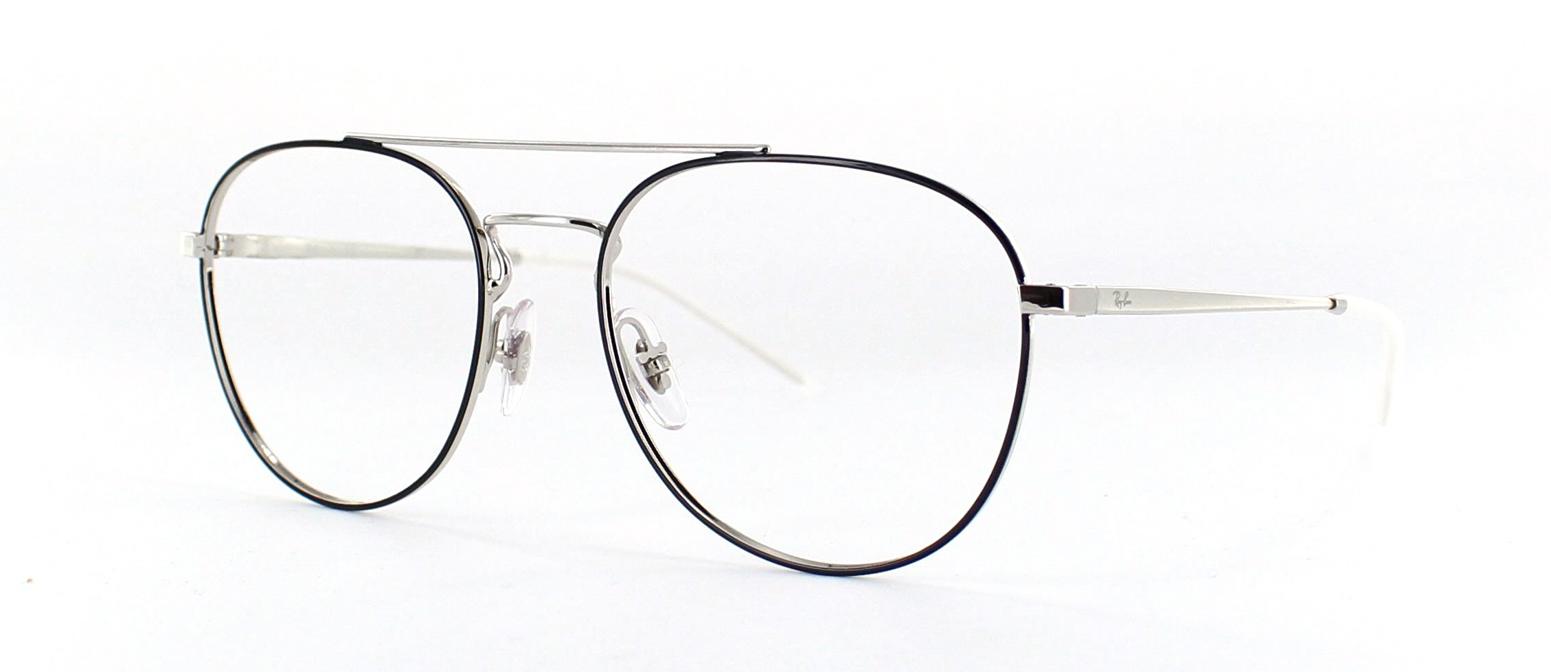 Ray Ban zilver 1 side